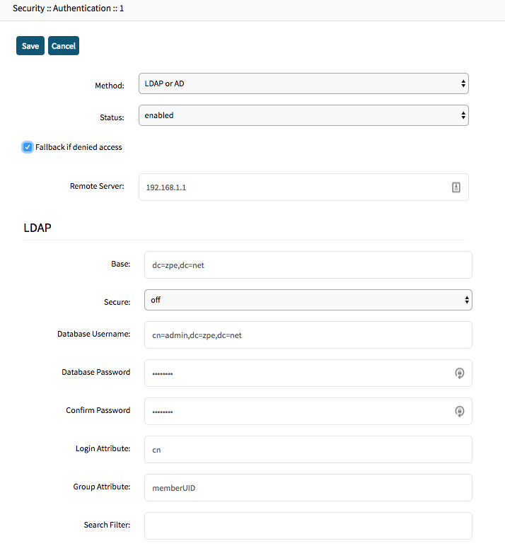 How to Configure Active Directory or LDAP Authentication