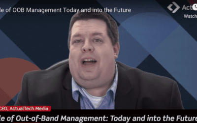 The Role of OOB Management – Today and into the Future