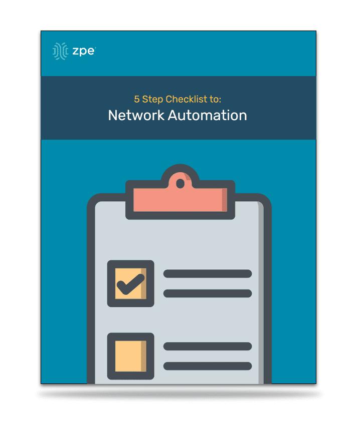 Checklist-NetworkAutomation