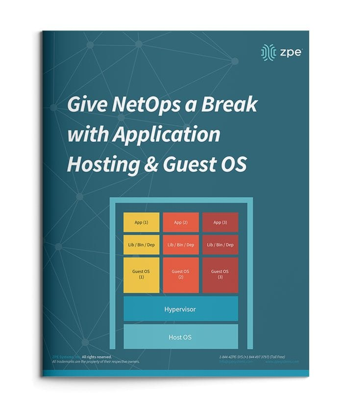Give NetOps a Break with Application Hosting & Guest OS