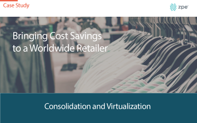 Retail Cost Savings Using Network Consolidation